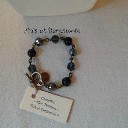 """Bracelet """"Bleu Montana"""""""