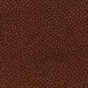 "tissu patchwork marron fleuri ""High Meadow Farm""de lynette anderson"