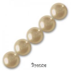 Les bracelets nacrés Bronze pearl
