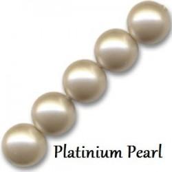 Les bracelets nacrés Platinium cristal Pearl