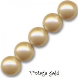 Les bracelets nacrés Vintage Gold Cristal Pearl