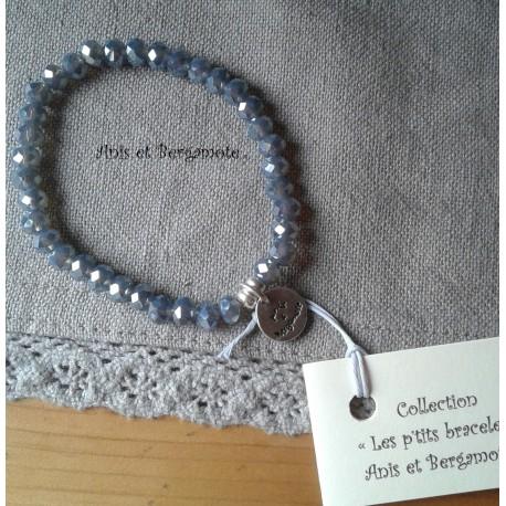 Les P'tits Bracelets coloris gris bleuté