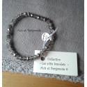 Les P'tits Bracelets coloris gris AB