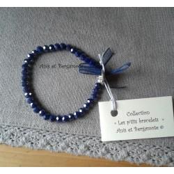 Les P'tits Bracelets coloris marine AB