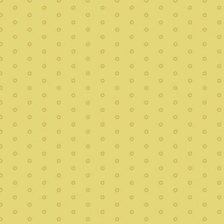 """tissu patchwork jaune collection """"Bijoux"""" Sol Mellow Yellow"""