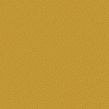 "tissu patchwork jaune collection ""Bijoux"" Carrot Cake Arrow"
