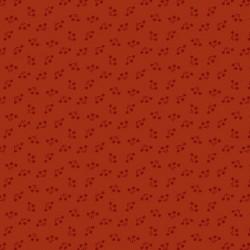 "tissu patchwork rouge cerise collection ""Bijoux"" Crimson Bouquet"