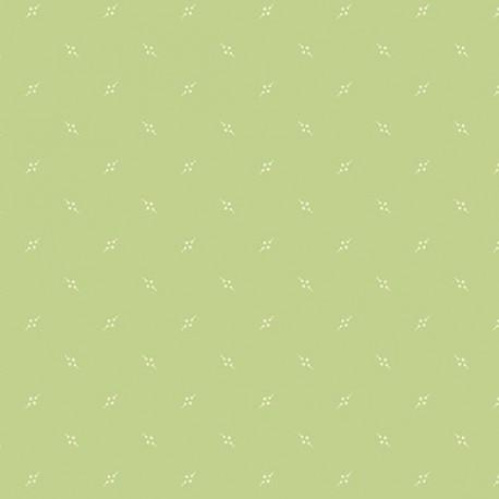 tissu patchwork coloris vert