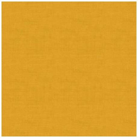 tissu patchwork coloris jaune collection Linen Texture