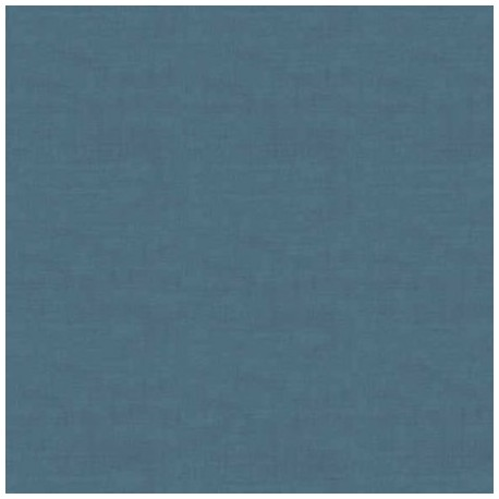 tissu patchwork uni bleu, collection Linen Texture
