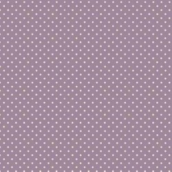 """Spot On"" tissu patch violet pois"