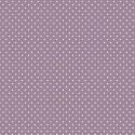 """""""Spot On"""" tissu patch violet pois"""