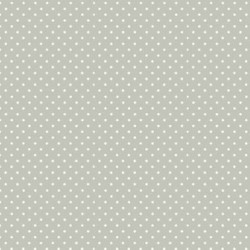 """Spot On"" tissu patch gris pois"