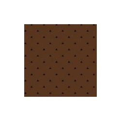 tissu patchwork marron, collection Trinkets