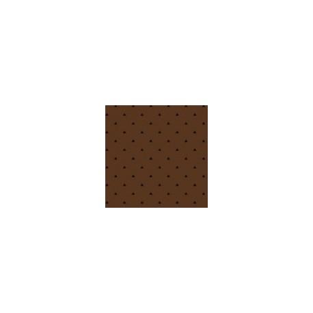tissu patchwork marron, collection Trinkets
