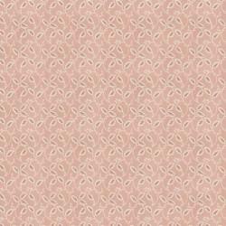 tissu patchwork fleuri pêche