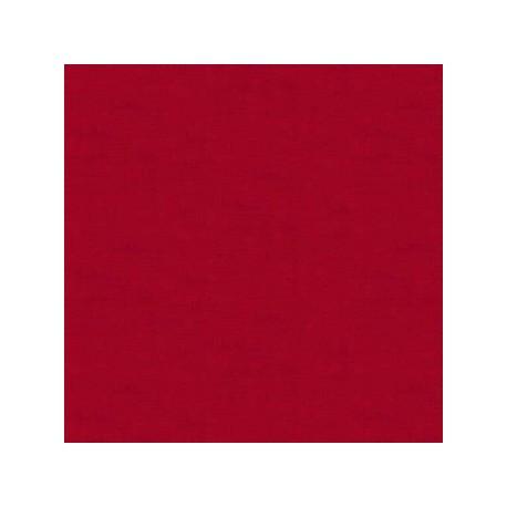 tissu patchwork coloris rouge Linen texture
