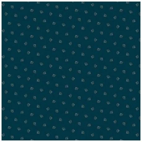 "tissu patchwork bleu collection ""Trinkets 2020"" blue tossed sprig"""""