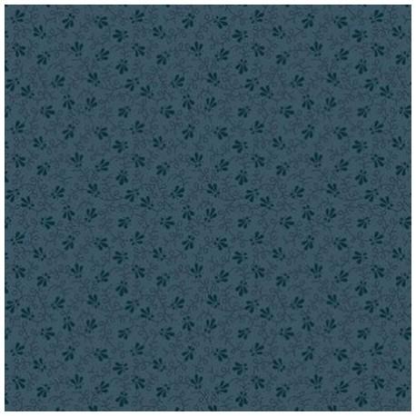 """tissu patchwork bleu collection """"Trinkets 2020"""" """"blue dotty vine"""""""
