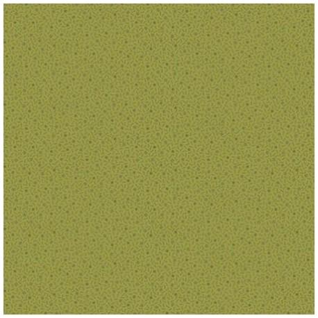 "tissu patchwork vert  avec de petits motifs collection ""Trinkets 2020"" ""green dotty square"""
