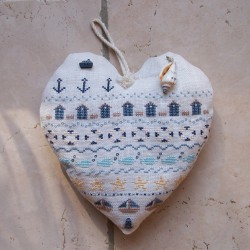 Un coeur à la plage