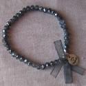 Les P'tits Bracelets coloris gris bleuté argenté