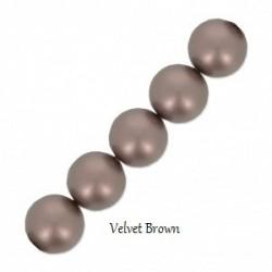 Les bracelets nacrés Velvet Brown Pearl