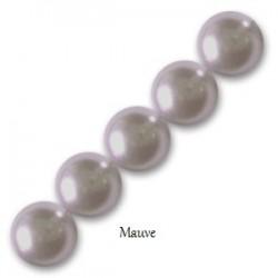Les bracelets nacrés Mauve Pearl