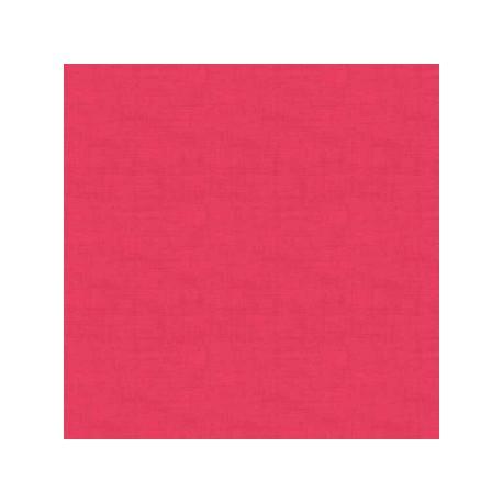 tissu patchwork uni rose fuchsia collection Linen texture