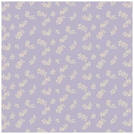 Liberty fleuri violet