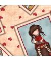 tissu patchwork Gorjuss- Collection My Story fond écru
