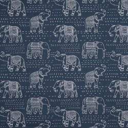 Tissu Elephants