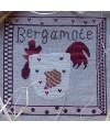 grille point de croix Bergamote la Cocotte