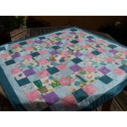 tuto gratuit pour réaliser un plaid patchwork