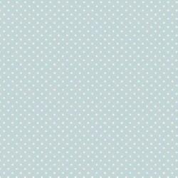 """""""Spot On"""" tissu patchwork bleu clair à pois 2909"""