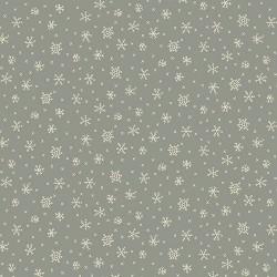 Winter Wonderland 0611 cristaux de givre, fond bleu