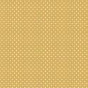 """Spot On"" tissu patchwork ocre jaune à pois 1211"