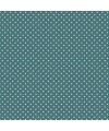 tissu patchwork bleu vert turquoise à pois 1207