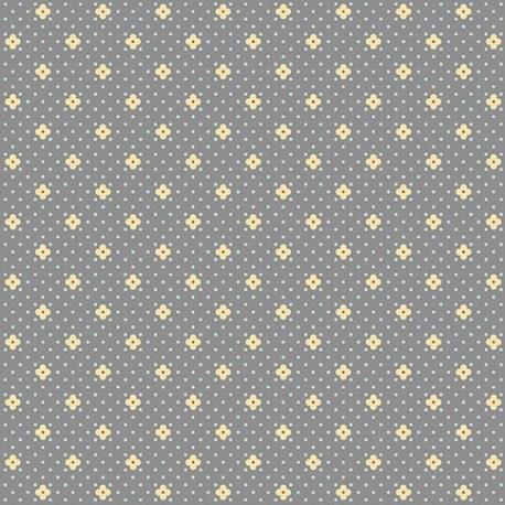 tissu patch petites fleurs