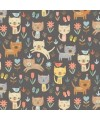 tissu patchwork impression de chats colection COOL Cats, Makower