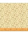 tissu patchwork vanille fleuri Collection french armoire de l'Atelier Perdu