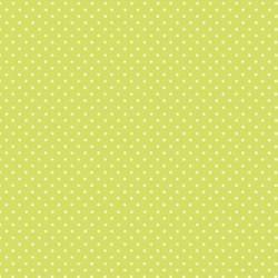 """""""Spot On"""" tissu patchwork vert kiwi à pois 592"""