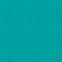 Tissu patchwork bleu turquoise collection Linen texture