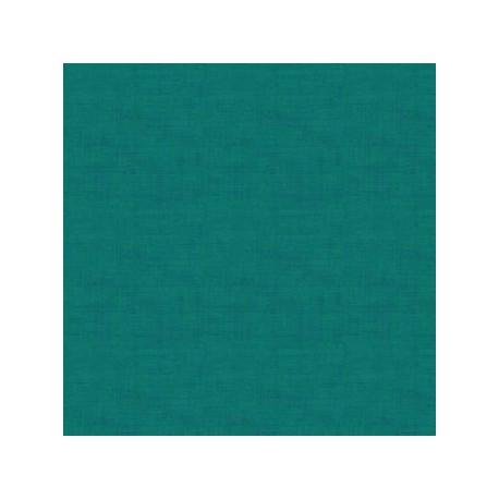 tissu patchwork turquoise vert foncé collection Linen texture