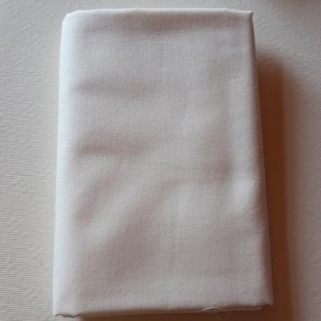 tissu 100 % coton Blanc cassé Domotex