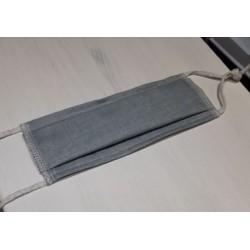 masques barrieres gris bleuté