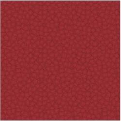 tissu patchwork rouge ton sur ton, petites fleurs 1263