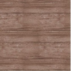 tissu patchwork, collection washed wood, effet bois, marron 8019