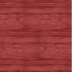 tissu patchwork, collection washed wood, effet bois, rouge clair 8018