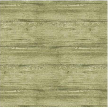 tissu patchwork vert, collection washed wood, effet bois, vert